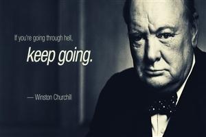Winston Churchill Inspirational Quotes HD Wallpapers