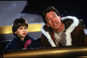 Tim Allen with Boy
