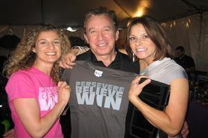 Tim Allen with Two Lady