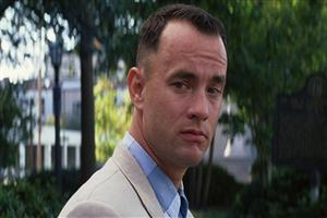 Tom Hanks in Movie Forrest Gump Wallpaper