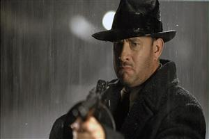 Tom Hanks with Gun