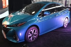Latest Toyota Prius Prime Car 4K Wallpaper