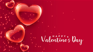 Happy Valentines Day Festival of Love 4K Photo