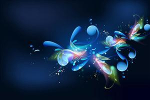 Beautiful Blue Designs Background Wallpapers