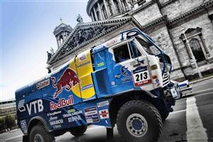 Red Bull Advertise Truck Wallpaper