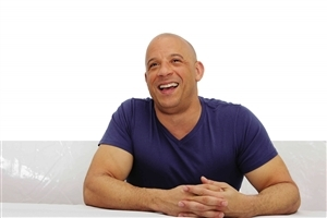 Smile of Vin Diesel Actor