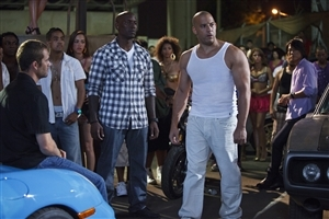 Vin Diesel in Fast Five Movie Scene Photo