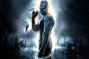 Vin Diesel in Movie The Chronicles of Riddick