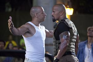 Vin Diesel with Rock