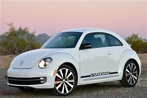 2018 Volkswagen Beetle White Car