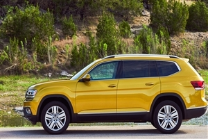 Latest 2018 Volkswagen Atlas SUV Car