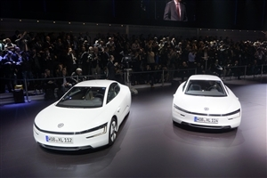 New Latest Volkswagen XL White Car HD Wallpaper