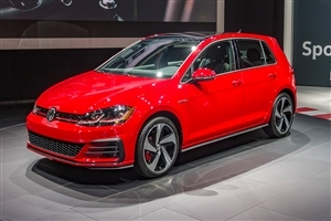 Volkswagen E Golf Superb Red Car