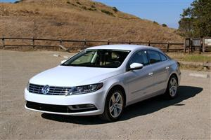 White Volkswagen CC Car Wallpaper