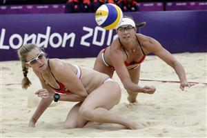 Hot Beach Volleyball Womans Match Wallpapers