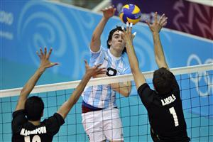 Man Volleyball Match in Olympics Wallpapers