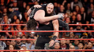 Braun Strowman Sphere to Roman Reigns