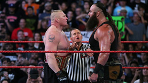Braun Strowman vs Brock Lesnar in WWE