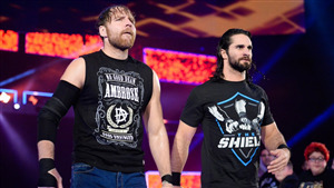 Dean Ambrose with Seth Rollins in WWE