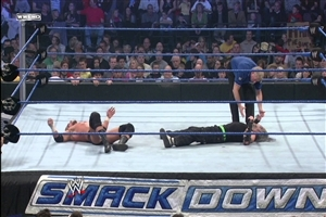 Jeff Hardy and Triple h in WWE Fight Ring