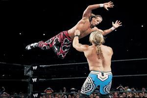 Shawn Michaels Fight in Ring