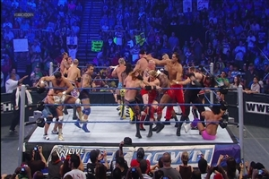 The Great American Bash 20 Man Battle Royal in WWE All Superstar Fight