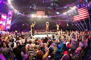 WWE Ring In Big Show and John Cena Its Special Style