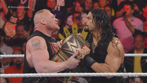 WWE Superstar Brock Lesnar vs Roman Reigns