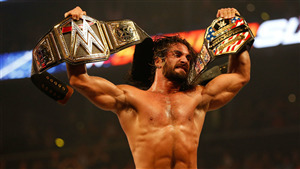 WWE Superstar Champion Seth Rollins 6 Pack Body Pic