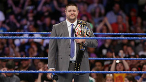 Wrestler Kevin Owens in Suit