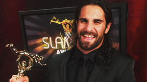 Wrestler Seth Rollins Win Award Superstar of the Year