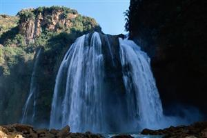A Beautiful Big Waterfall Image