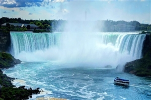 Amazing Look of Niagara Falls in US Wallpaper