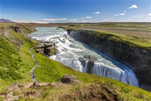 Gullfoss Beautiful Waterfall in Iceland HD Wallpapers