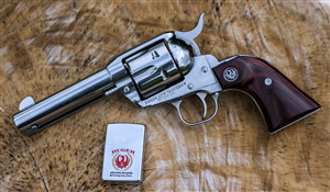 Ruger Revolver Weapon 4K Wallpaper