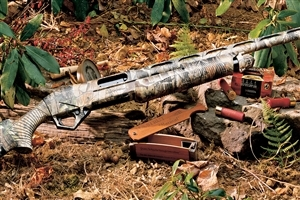 Shotgun for Hunting in Jungle HD Desktop Images