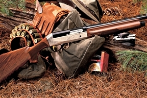 Shotguns for Hunting in Jungle Wallpaper Free Download