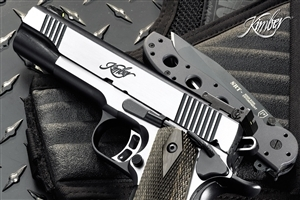 Weapons Pistol and Knife HD Desktop Photos