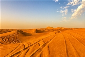 Beautiful Safari Desert in Dubai
