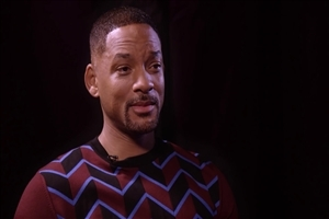 Will Smith During TV Interview Image