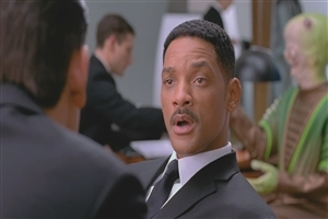 Will Smith in Man in Black Movie Scene Photo