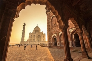 Beautiful Taj Mahal HD Photography