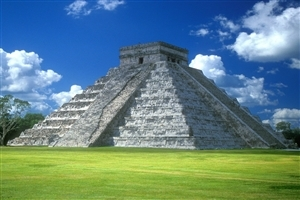 Chichen Itza Wonders in Mexico Tourist Place Photo