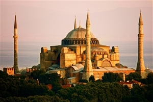Hagia Sophia in Turky Wonder of World Photo