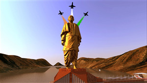 Sardar Vallabhbhai Patel of Statue of Unity in Gujarat India