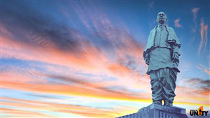 Statue of Unity India HD Photo