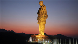 World Tallest Statue of Sardar Vallabhbhai Patel in 2018